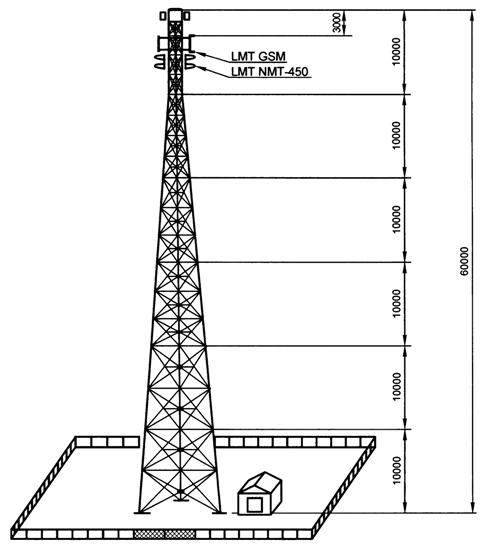 башня и аппаратный контейнер